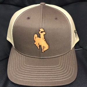 Wyoming Cowboy snap back cap